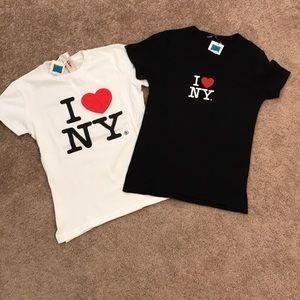 NWT. I love NY tees